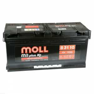 110Ah Akumulator MOLL M3plus K2 83110